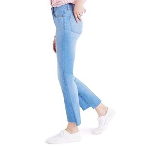Madewell Cali Demi Boots Jeans : Step Hem Edition